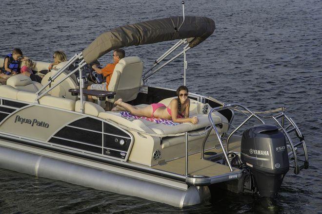 Aqua Patio AP 240 Elite OB   Aqua Patio Boats