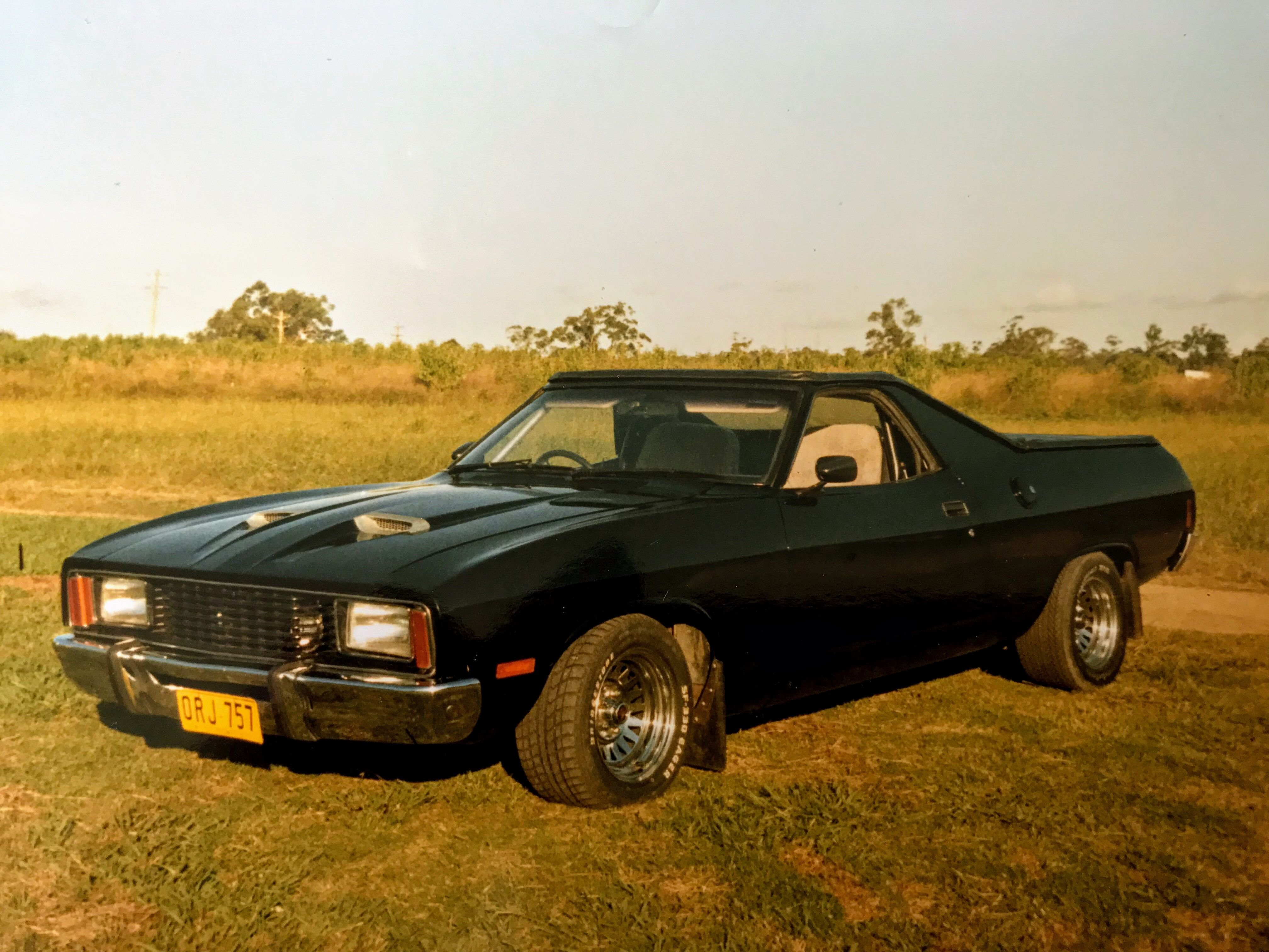 1978 Xc Ford Falcon Convertible Ute Worked 351ci Fmx Auto Originally A Show Panel Van Apparition Bat Out Australian Cars Aussie Muscle Cars Ford Falcon