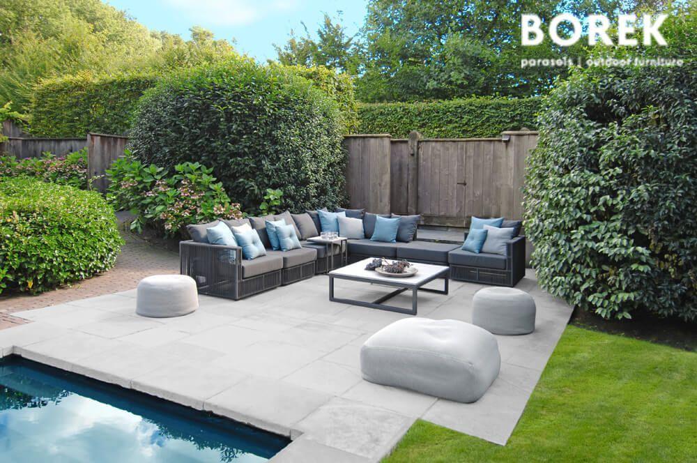 Design Garten Beistelltisch Venice Garten Borek Ecke Lincoln Gartenlounge Beistelltisch Venice Crochette Mit Vo In 2020 Patio Outdoor Furniture Sets Small Garden