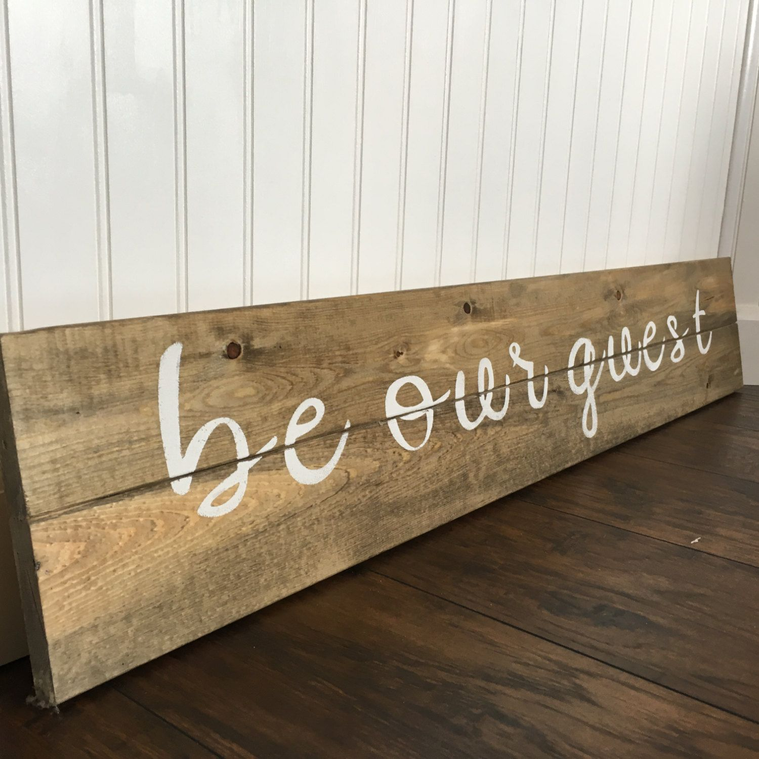 Wall Sign Decor Inspiration Be Our Guest Sign Guest Bedroom Rustic Wall Decor Rustic Decor Inspiration