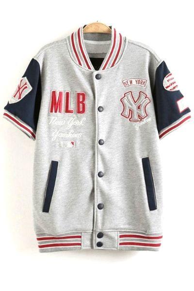 Sports Color Block Jacket