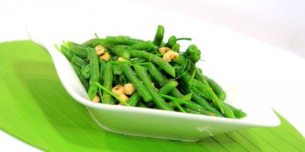 Cbc Sofra طريقة عمل سلطة فاصوليا خضراء بالبندق امانى رفعت Recipe Green Beans Vegetables Salad