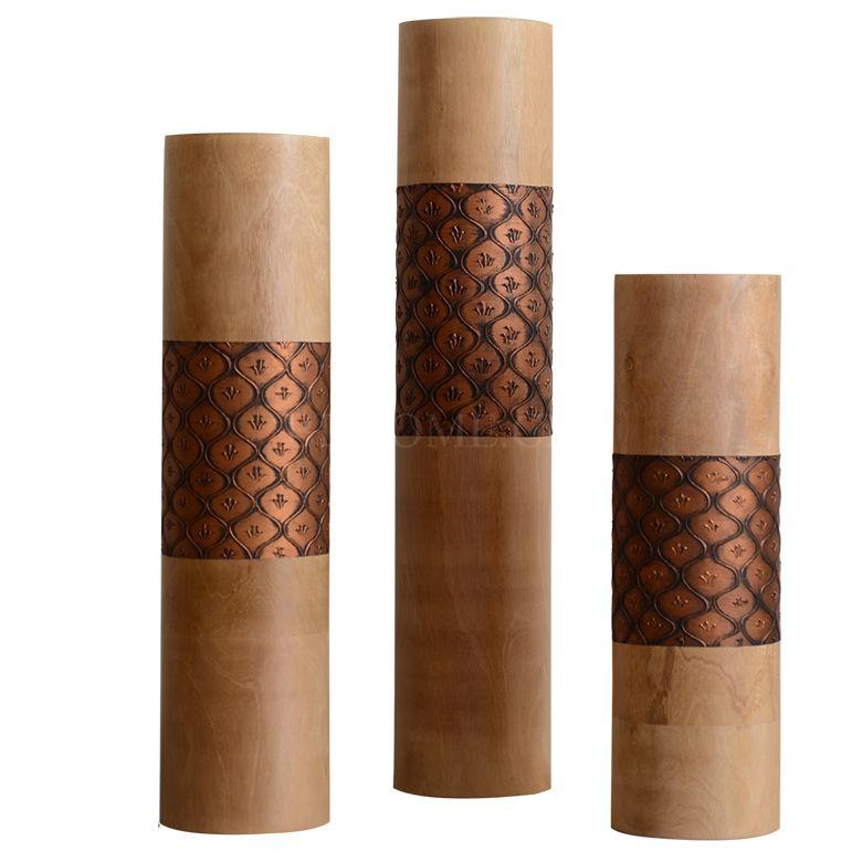 实木摆件 花插摆件 多尺寸可选
