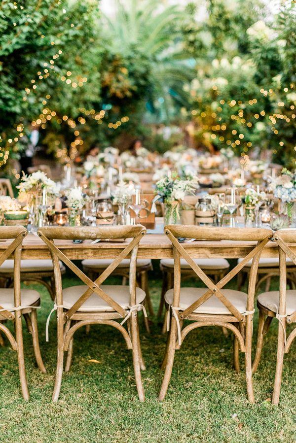 Wooden Wedding Chairs Photo By Cara Robbins Studio Http Ruffledblog