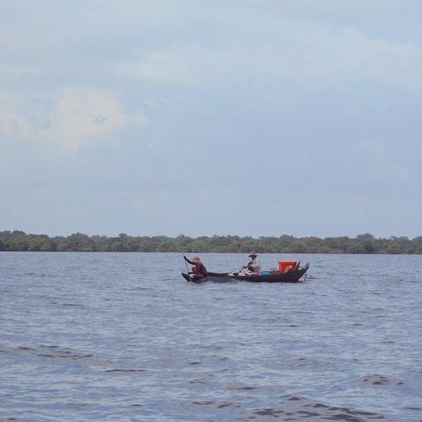Tonle Sap floating village #siemreap #cambodia