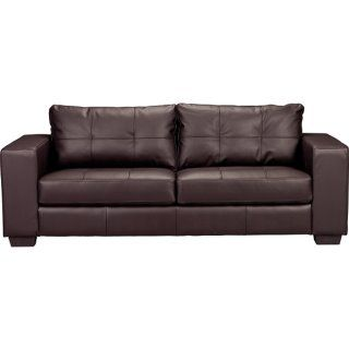 Costa Brown Bonded Leather Sofa] | Sofa, Leather sofa, Sofa bed
