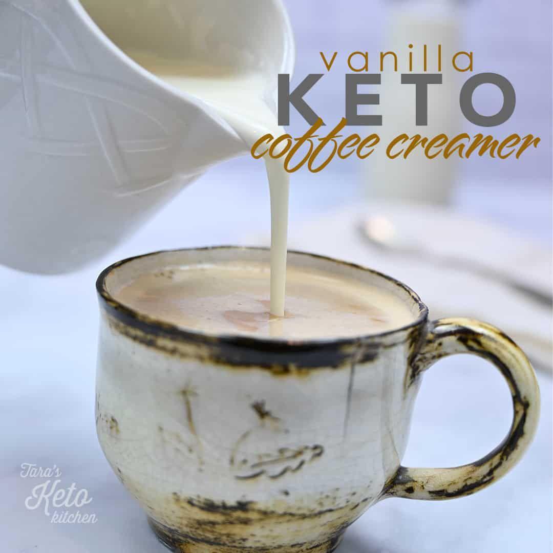 DIY Keto Coffee Creamer Recipe