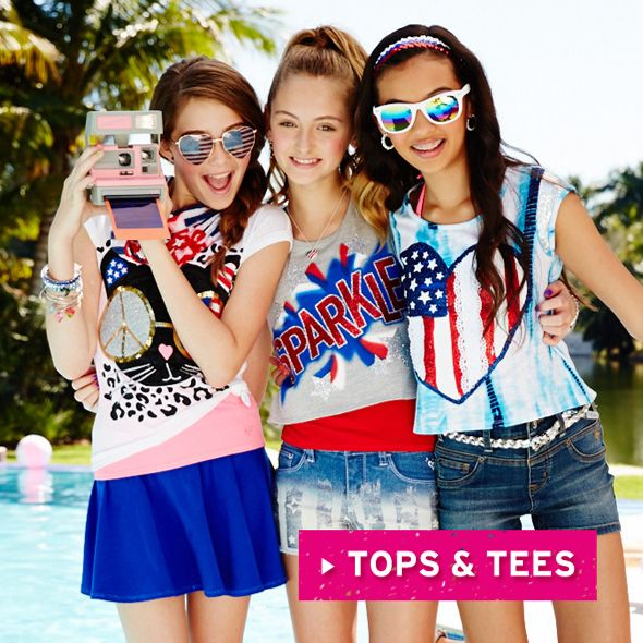 Girls Clothing Online | Clothing For Tween Girls | Shop Justice ...