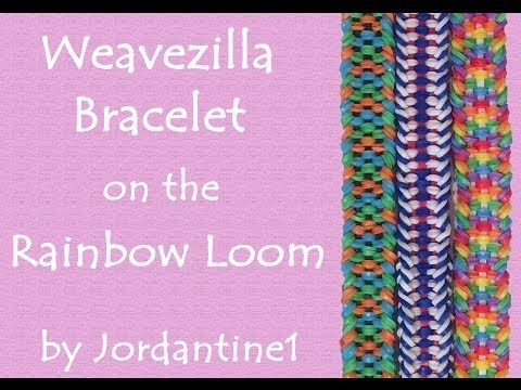 New Weavezilla Bracelet Rainbow Loom Crazy Loom Fun Loom