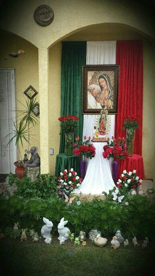 La Virgen De Guadalupe Decoraciones De Altar Decoraciones