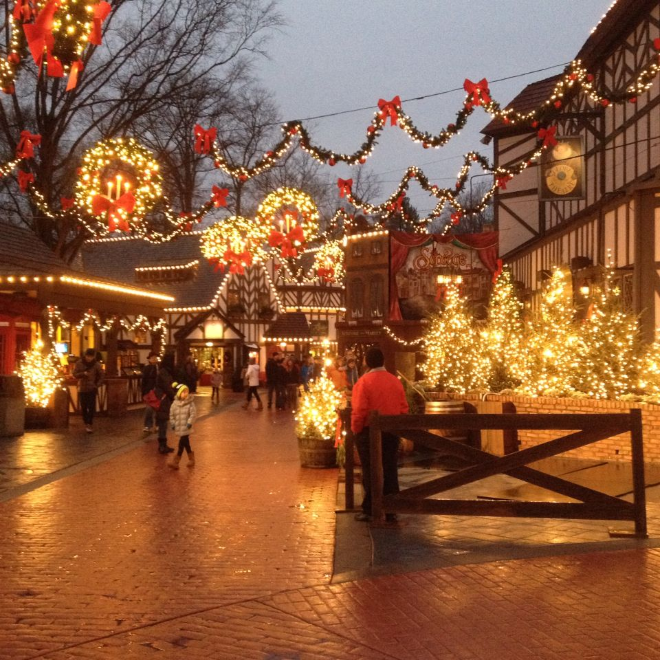 Christmas Town Busch Gardens Williamsburg Va Experienced Pinterest Vacation And