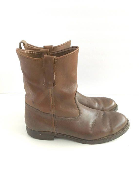 Vintage LL Bean Boots Mens Slip On