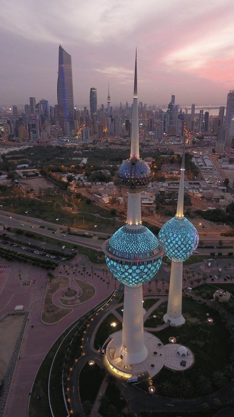 أبراج دولة الكويت Kuwait National Day Kuwait City Architecture Landmark