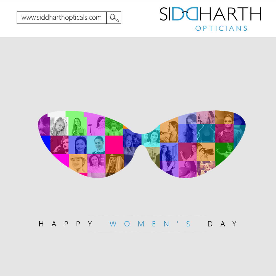 Team Siddharth Opticals wishes you all Happy Womens Day