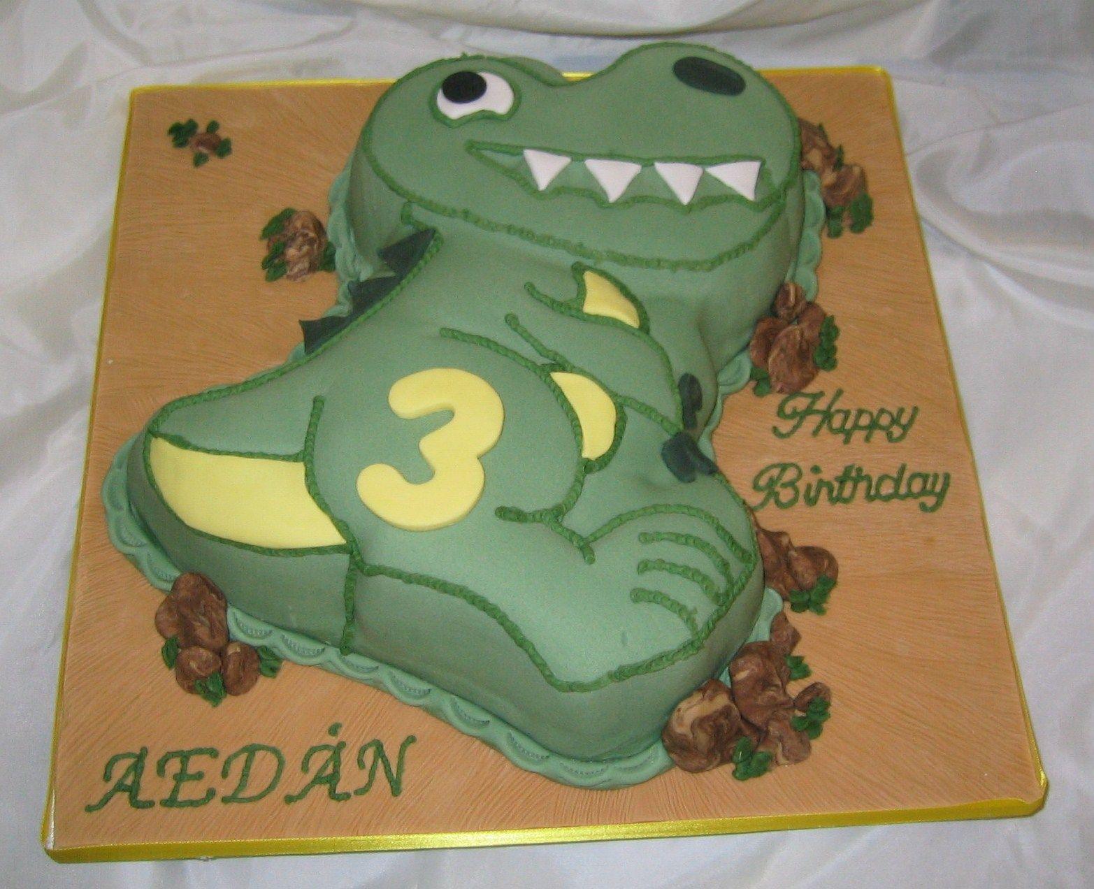 Dinosaur Cake Ideas Wilton