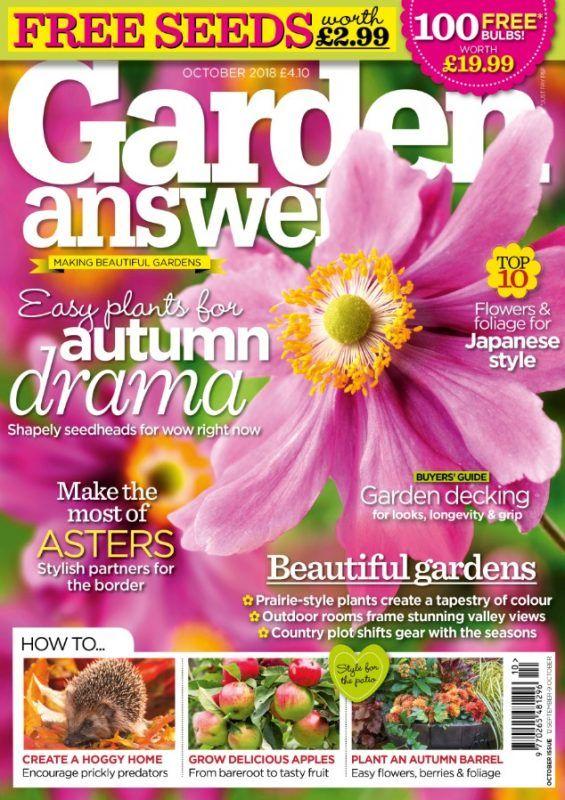Garden Answers October 2018 Garden, Beautiful gardens
