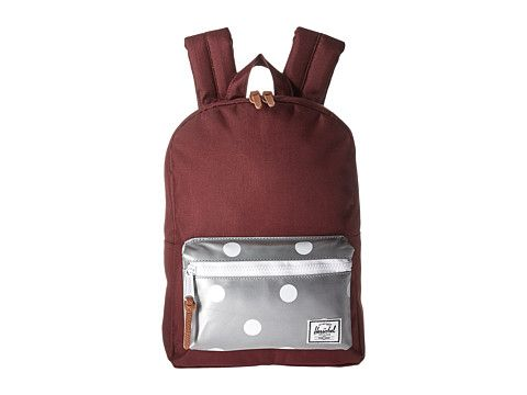 b7b0cfe498f HERSCHEL SUPPLY CO. Settlement Kids (Little Kids Big Kids).   herschelsupplyco.  bags  leather  polyester  backpacks  cotton