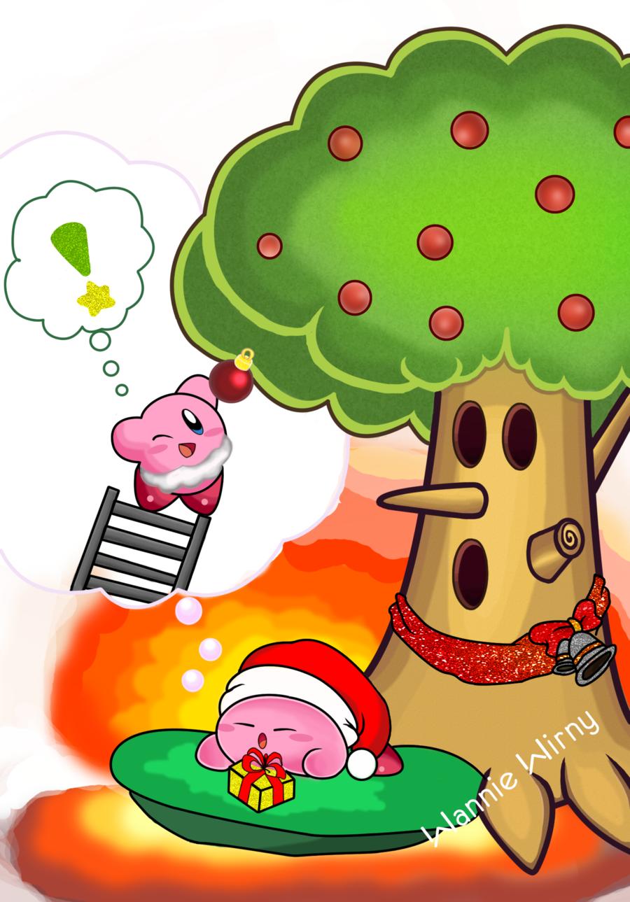 Merry Christmas, Kirby by WannieWirny.deviantart.com on @DeviantArt ...