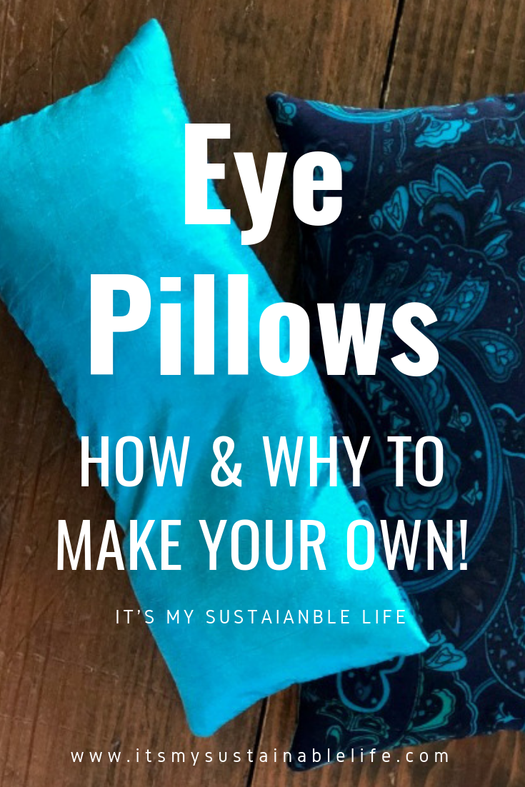 How To Make A Restful Lavender Flax Eye Pillow Eye Pillows Lavender Eye Pillows Diy Yoga