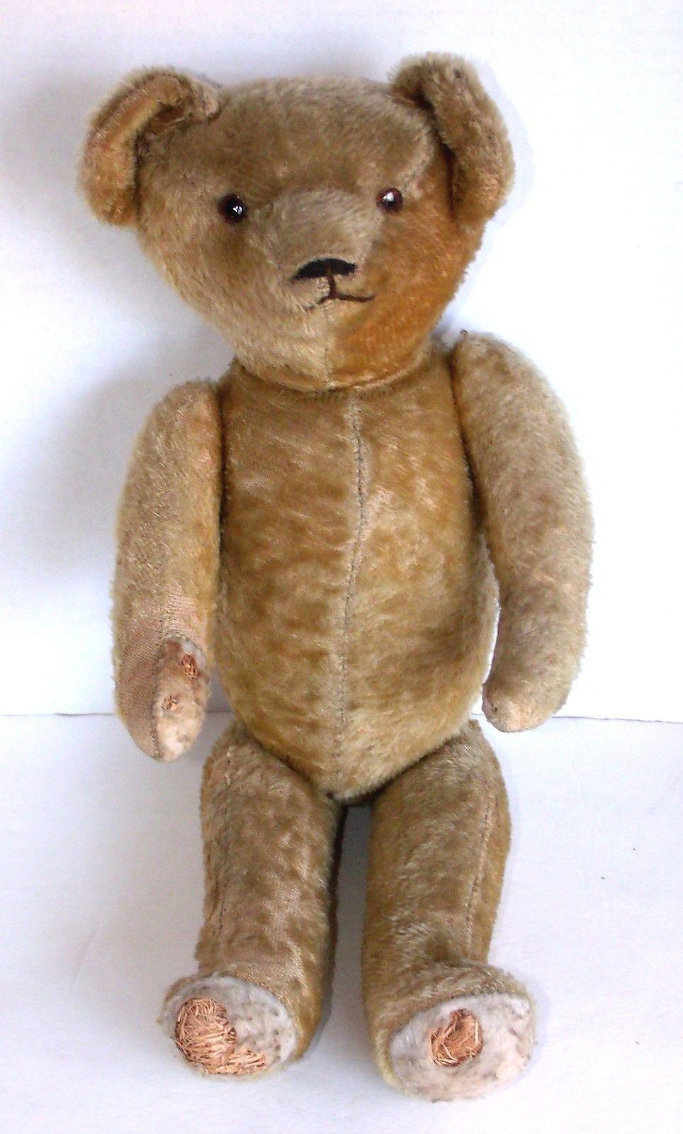 8bb03da00f9 Early 1900 s Jointed Mohair Teddy Bear Antique Teddy Bears