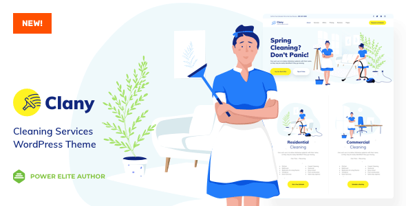 Clany Cleaning Services Wordpress Stylelib Cleaning Service Wordpress Magazine Theme Wordpress
