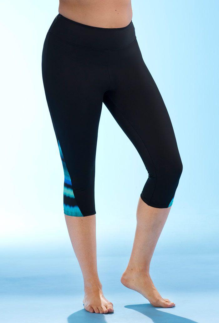 Lycra Xtra Life Score Capri Swimsuits For All Plus Size Swimwear