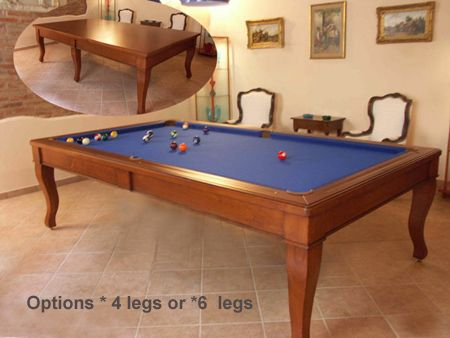 It S A Pool Table With A Dining Top Two Tables In One So Cool Pool Table Dining Table Dining Room Pool Table Pool Table