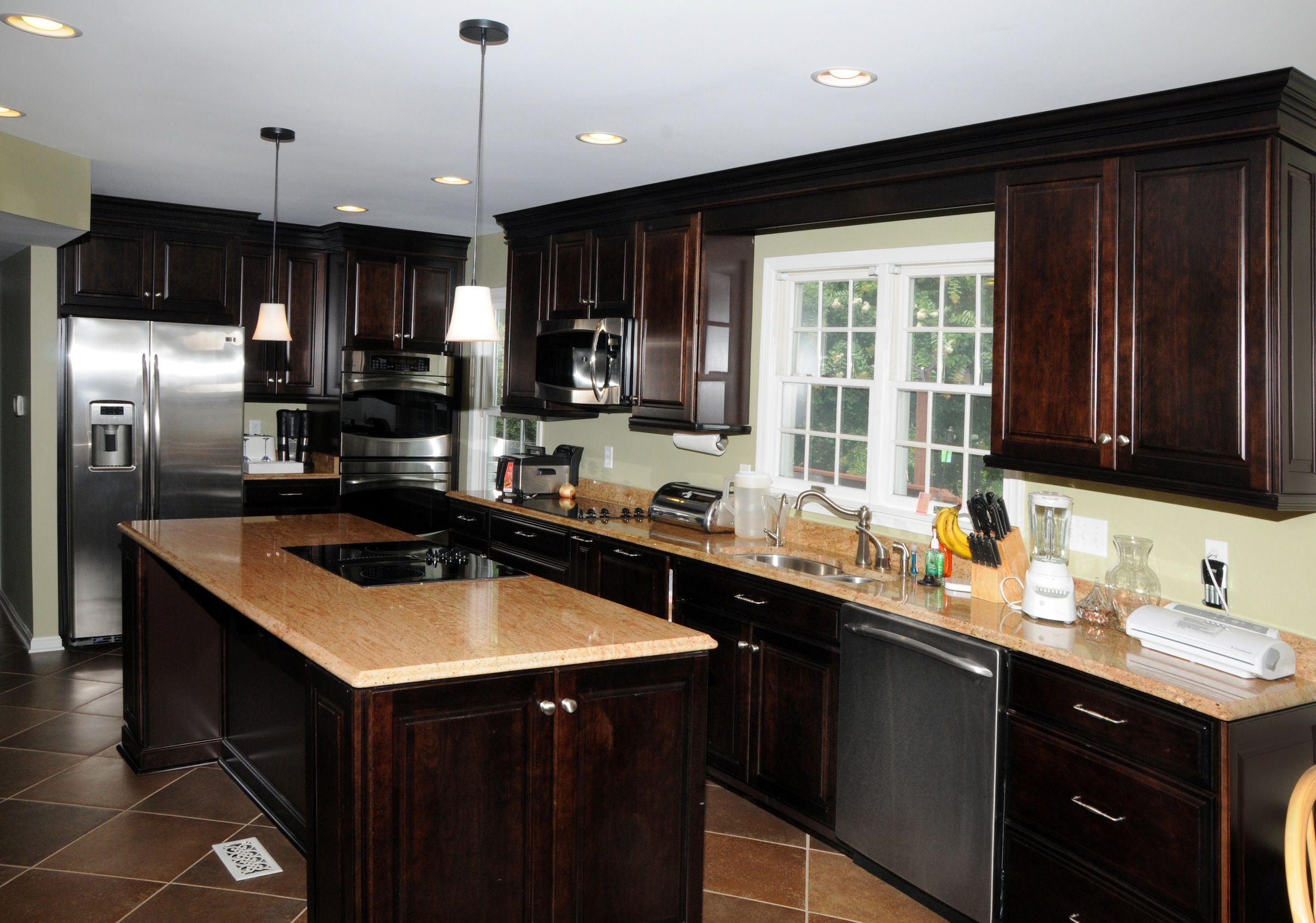 Kitchen Design Baltimore Kitchen Addition In Owings Mills Md  Baltimore County  Design