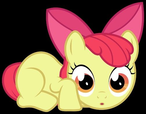 Apple bloom! Adorable!