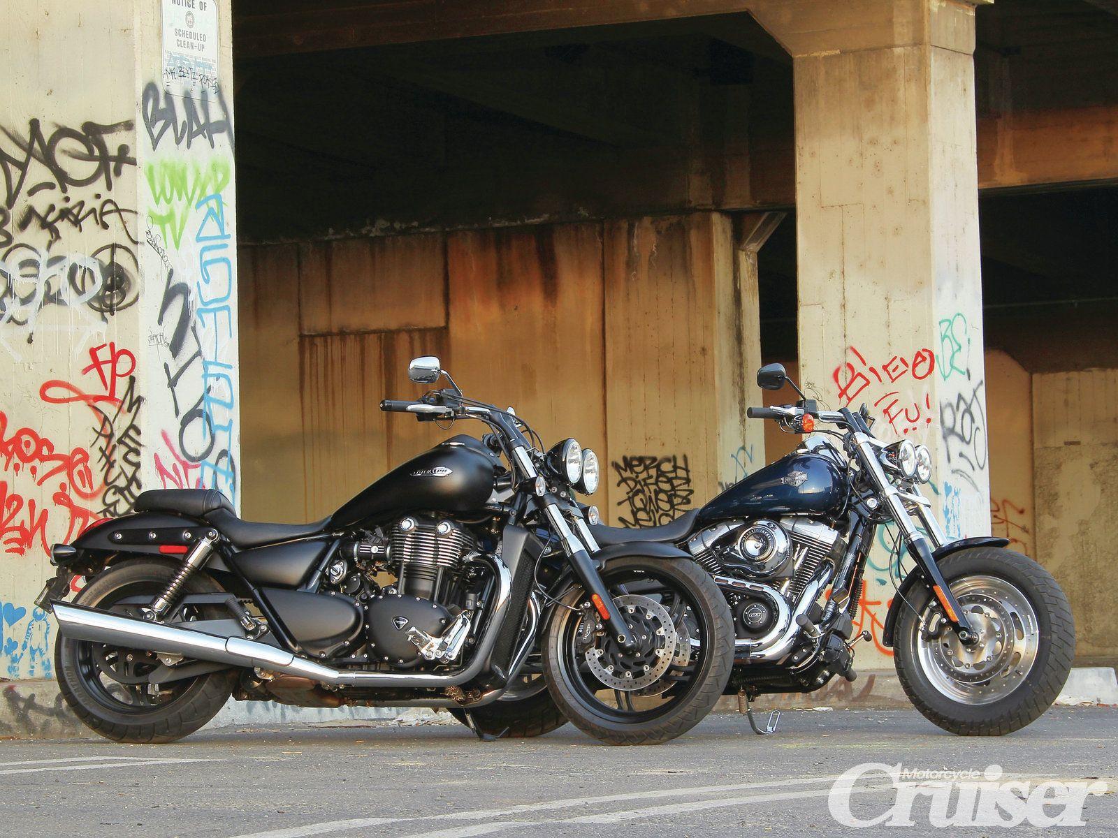 Обои Thunderbird, Triumph, bike. Мотоциклы foto 13