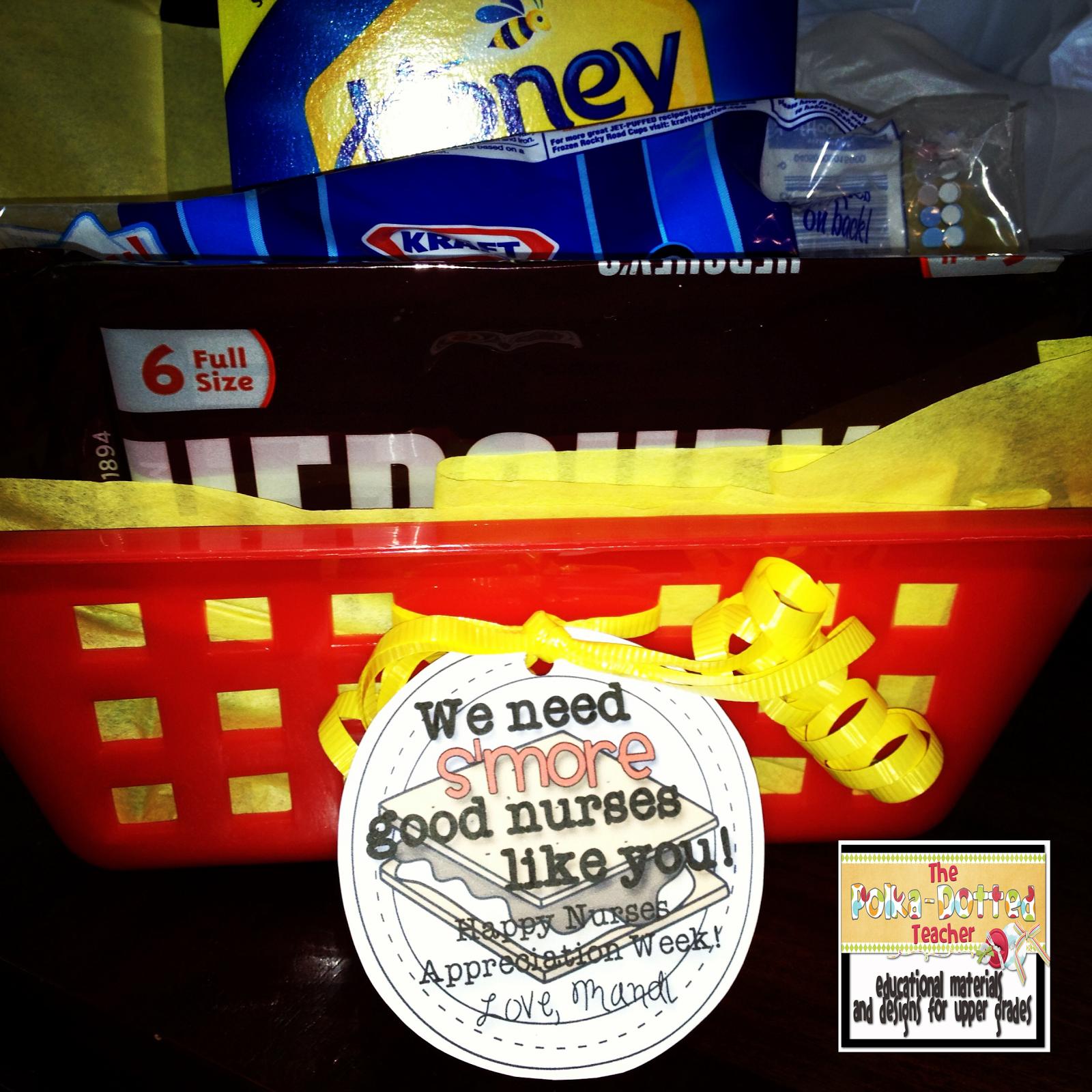 The Polka-dotted Teacher: Teachers/Nurses Appreciation Week Gifts ...