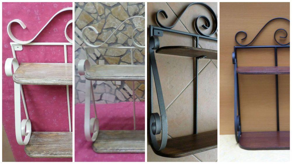 Lampadario stile rustico ferro battuto e legno cucina ambienti ...