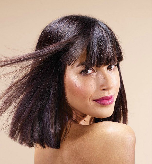 Straight Cut With Bangs | My Favorite Medium Length Hairstyles of 2016