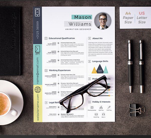 Download Psd Resume Template  Latest Cv Templates Free