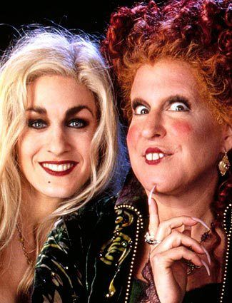witches from hocus pocus as the three witches in the adaptation they could play three secretaries giving macbeth advice