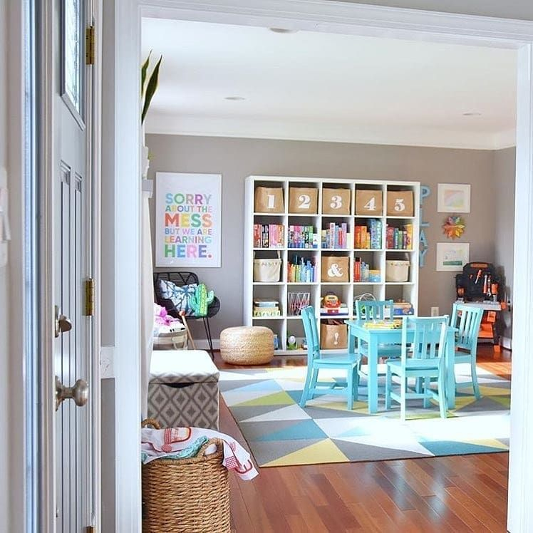 48 Fun Kids Playroom Ideas & Design Tips for Every Taste and ...