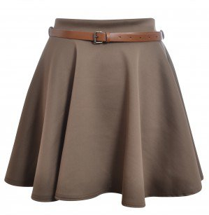 #shelikes.com             #Skirt                    #Taylor #Mocha #Belted #Jersey #Skater #Skirt #Shelikes                       Taylor Mocha Belted Jersey Skater Skirt | Shelikes                            http://www.seapai.com/product.aspx?PID=1375219