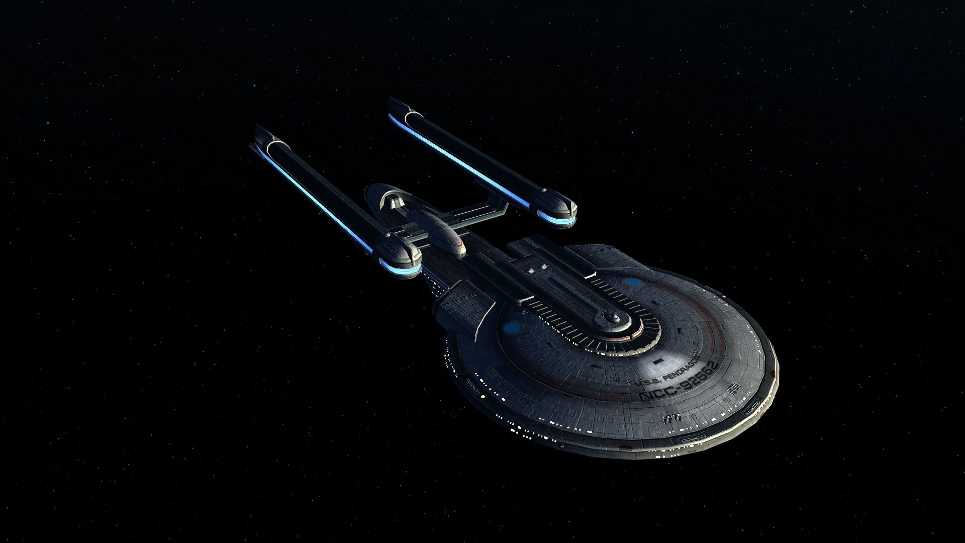 Star Trek: Online.  The U.S.S. Pendragon Commanded by Bajoran National, Vn'dor Phail