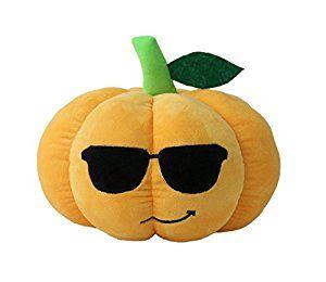 "Hanging PUMPKIN MAN Halloween Floppy Legs 9""- Plush Stuffed Toy ..."