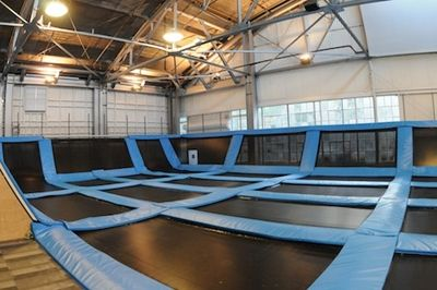 House Of Air Indoor Trampoline Park San Francisco Ca Kid Friendly Activity Reviews Trekaroo With Images Indoor Trampoline Trampoline Park Backyard Trampoline