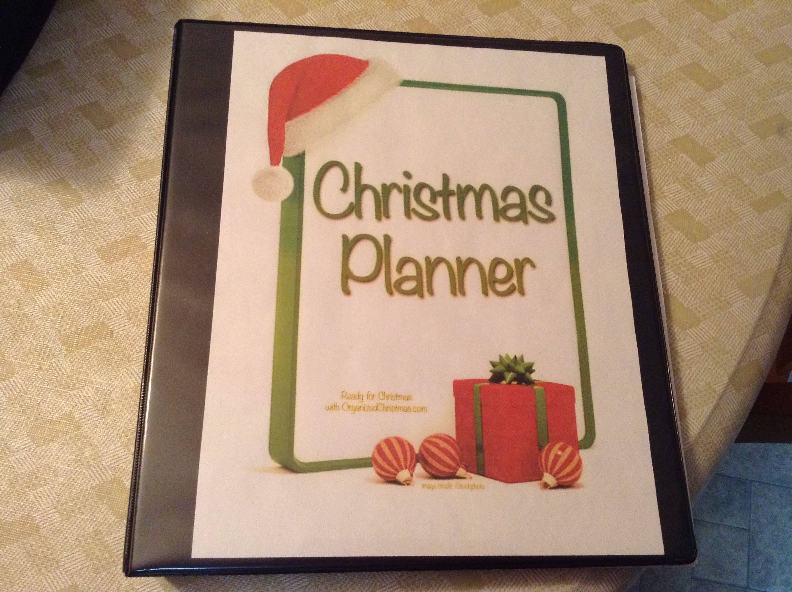 Do You Have A Holiday Planner To Get You Organized For The