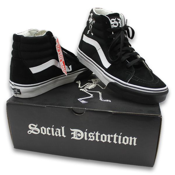 IMAGE | Social Distortion Custom Vans Shoes | Custom vans