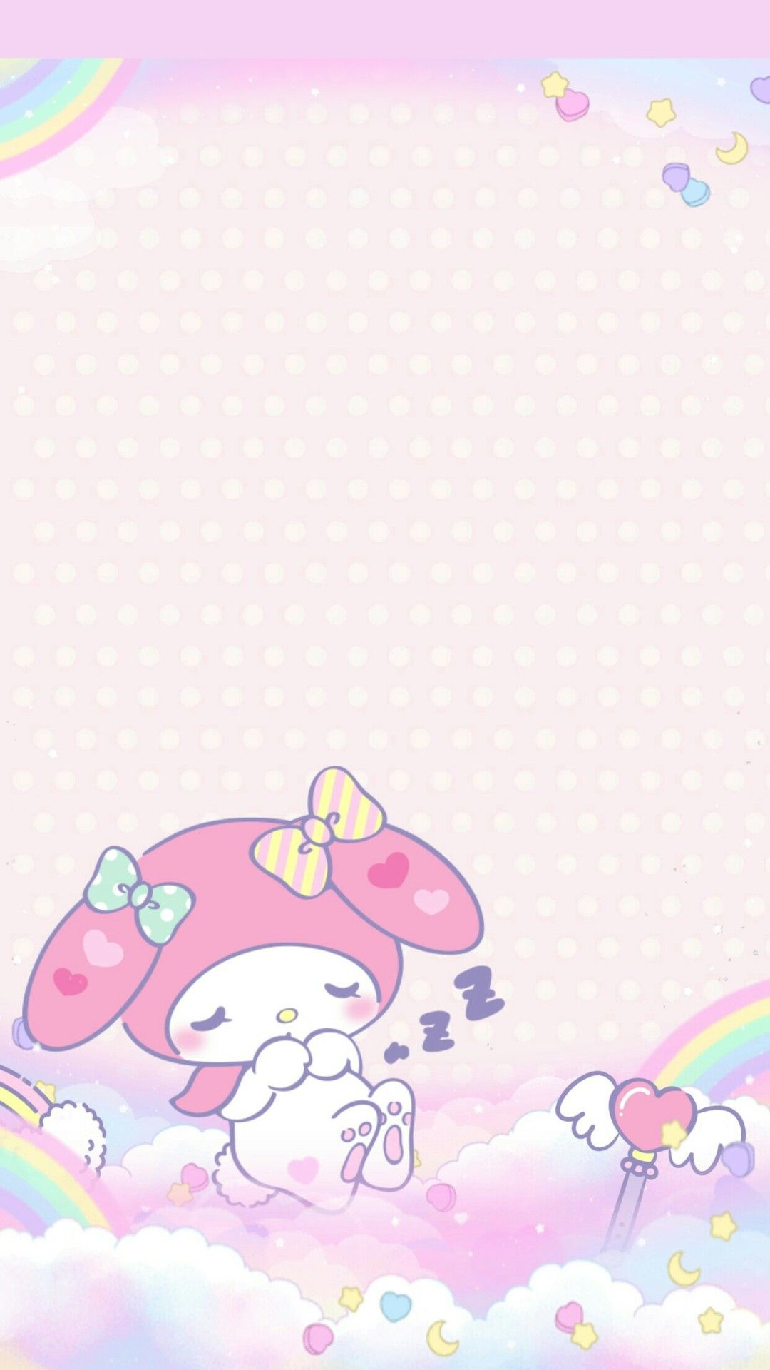 Heymi243 My Melody Unicorn Wallpaper By Me If U Use My Wall Give Me Credit Please Sanrio Wallpaper My Melody Wallpaper Hello Kitty Wallpaper