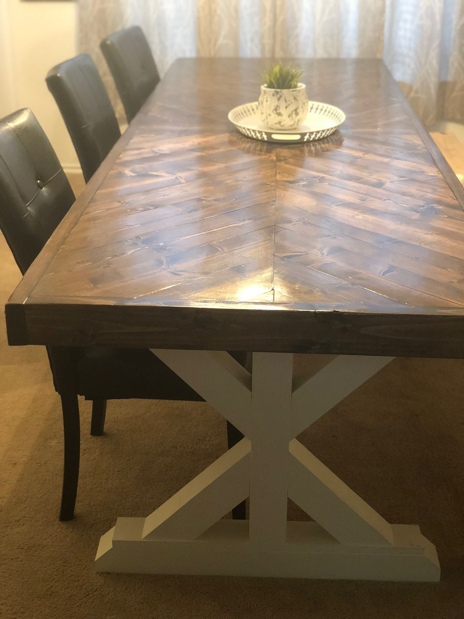 Rustic Dining Room Table That Actually Seats 10 12 People 12 Feet