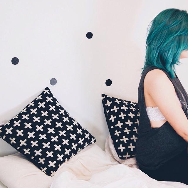 Tem post novo no blog {link no perfil} ✨ #greenhair #omundodejess #wearetothe9s