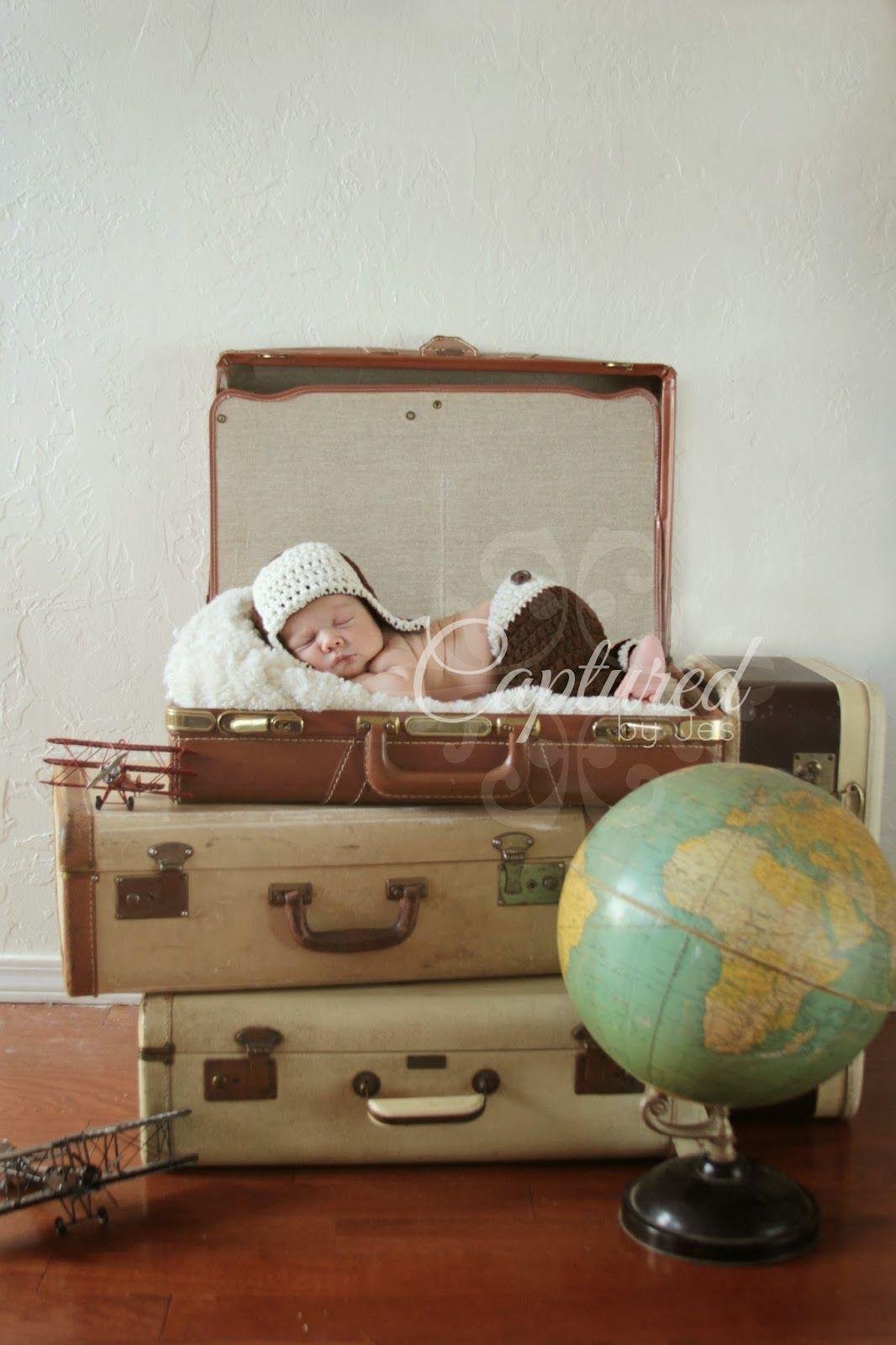 Vintage Travel Theme 39 D Nursery