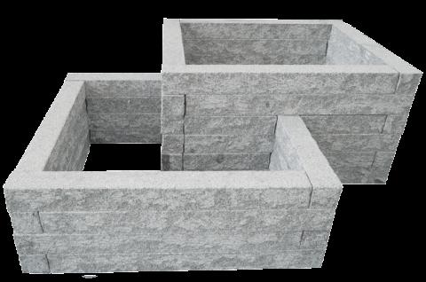 Hochbeet Bausatz Aus Granit Stein Hochbeet Bausatz Hochbeet Und Granitsteine