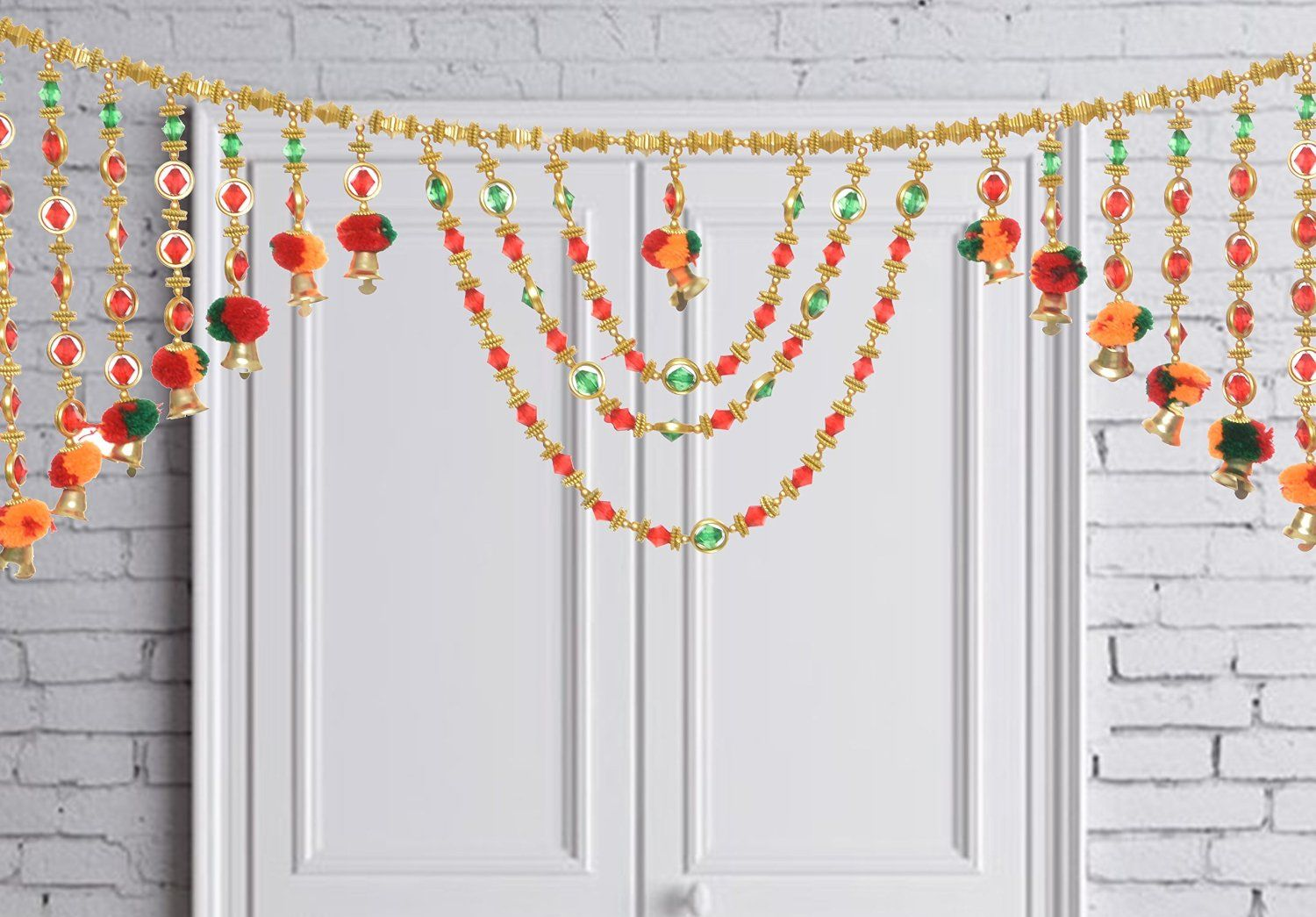 Diwali Decorations And Diwali Gifts Indian Handmade Decoration For Door Valance