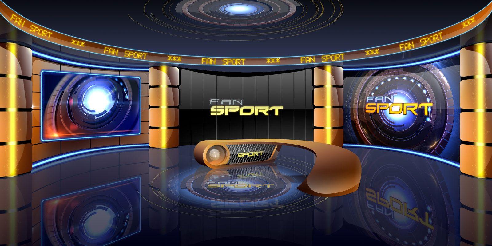 Studio Design *** FAN SPORT on FAN Television by