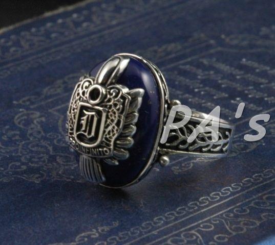 Vampire Diaries Salvatore Damon D crest ring great gift identical duplicate #PAs #Band